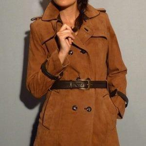 Manteau et 3/4 en cuir