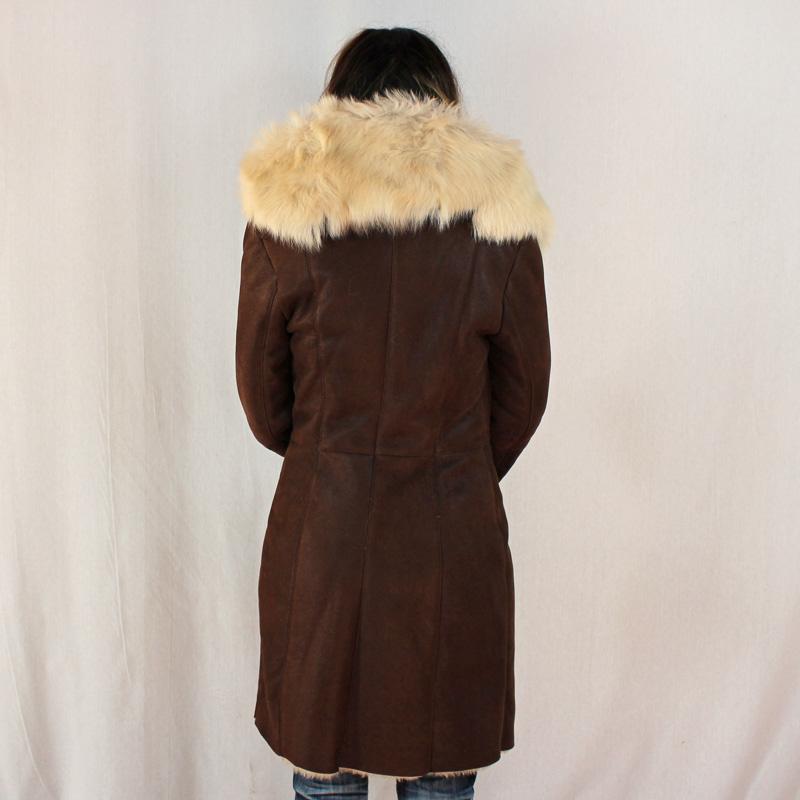 3 4 femme en peau de mouton retourne peau lainee femme 3 4. Black Bedroom Furniture Sets. Home Design Ideas