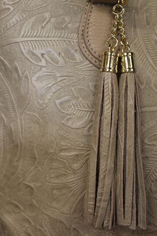 ca5340ada7f7c Sac à main cuir beige - Itinérance Cuir - Vêtements cuir en Périgord ...