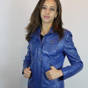 Blouson en cuir - Itinérance Cuir - Vêtements cuir en Périgord Noir 874cd662497